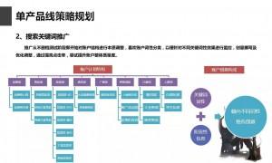 竞价托管-单产品线策略规划