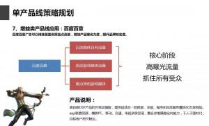 竞价托管-百度百意的单产品线策略规划